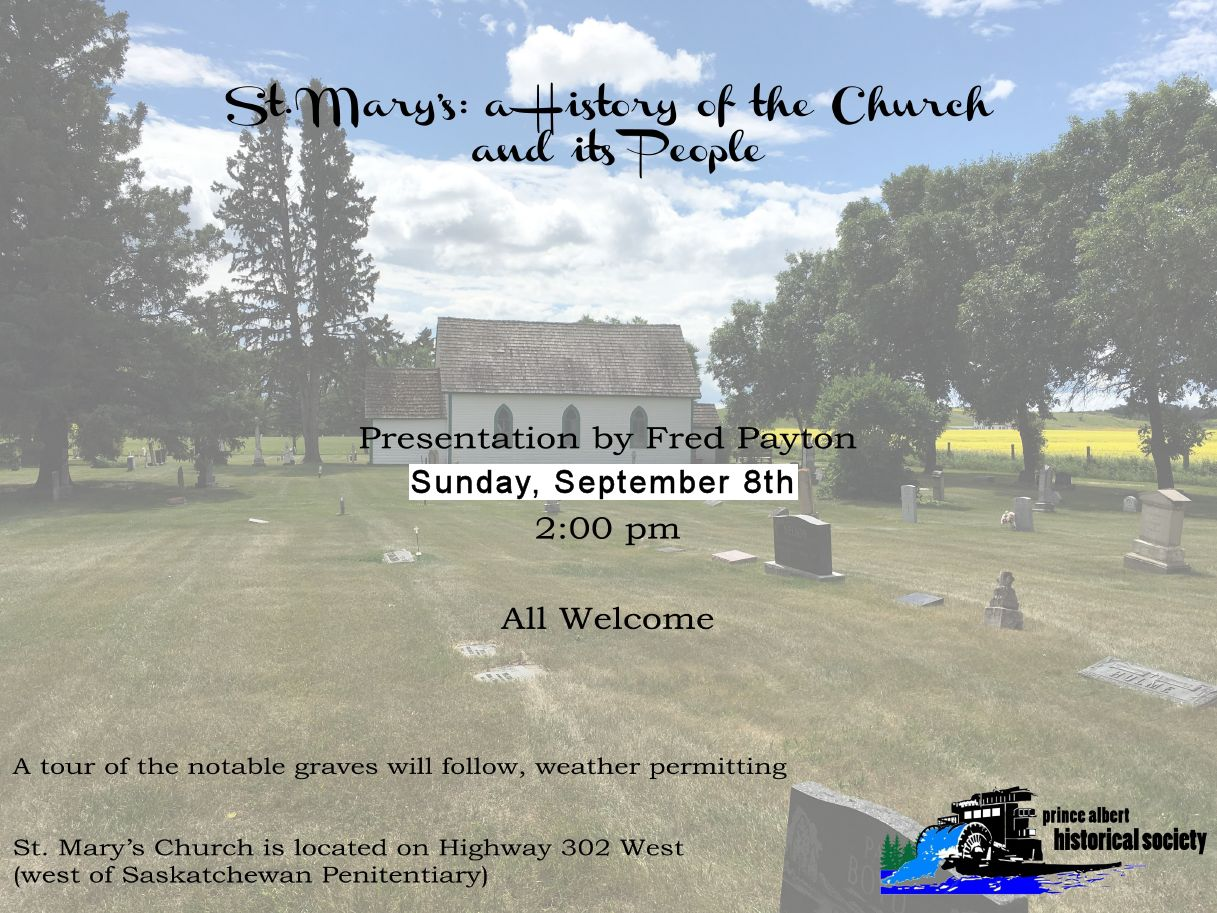 St. Mary's Sept 8th Presentation